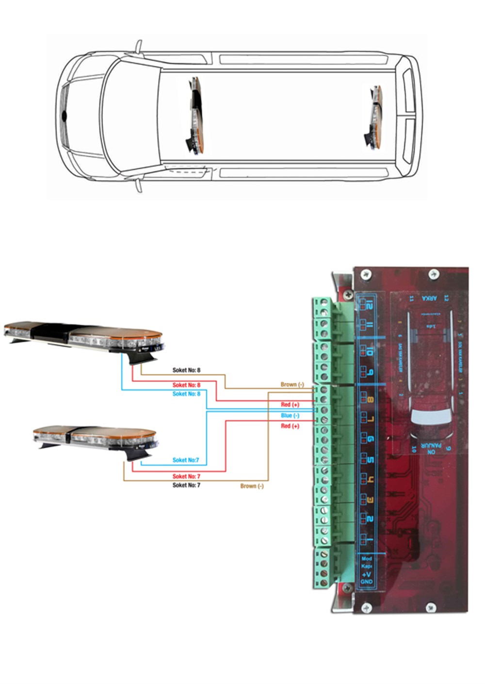 Mounting Diagram Space E-116
